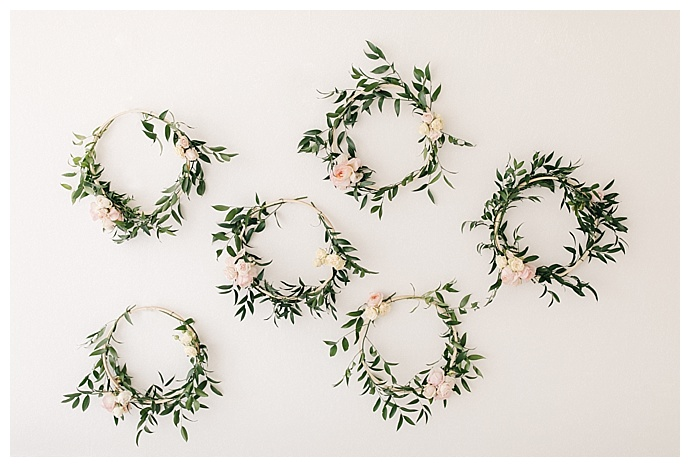 Floral Wreaths for First Birthday Decor