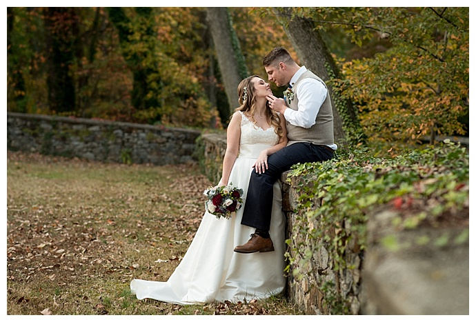 fall delaware wedding