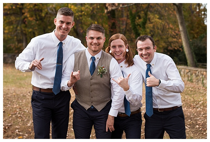 no jacket groomsmen