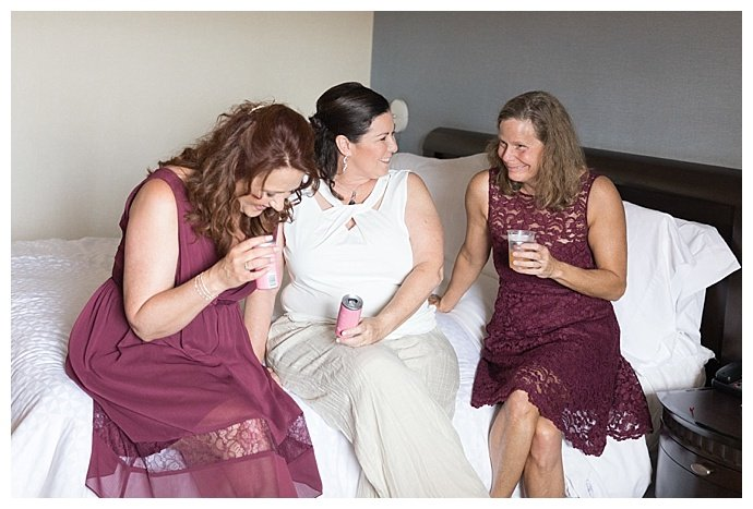 mismatched-wine-colored-bridesmaids-dresses-sky-and-reef-photography