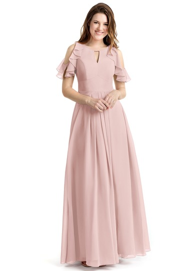 modern-dusty-rose-bridesmaid-dress-with-cold-shoulder