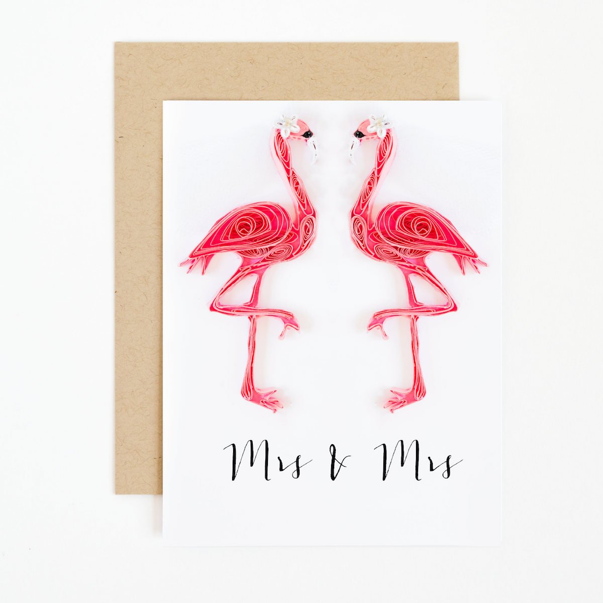 mrs-and-mrs-flamingo-wedding-card