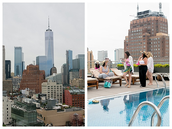 nyc-rooftop-pool-bachelorette-party