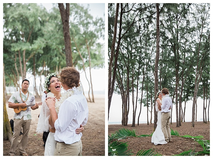 oahu forest elopement