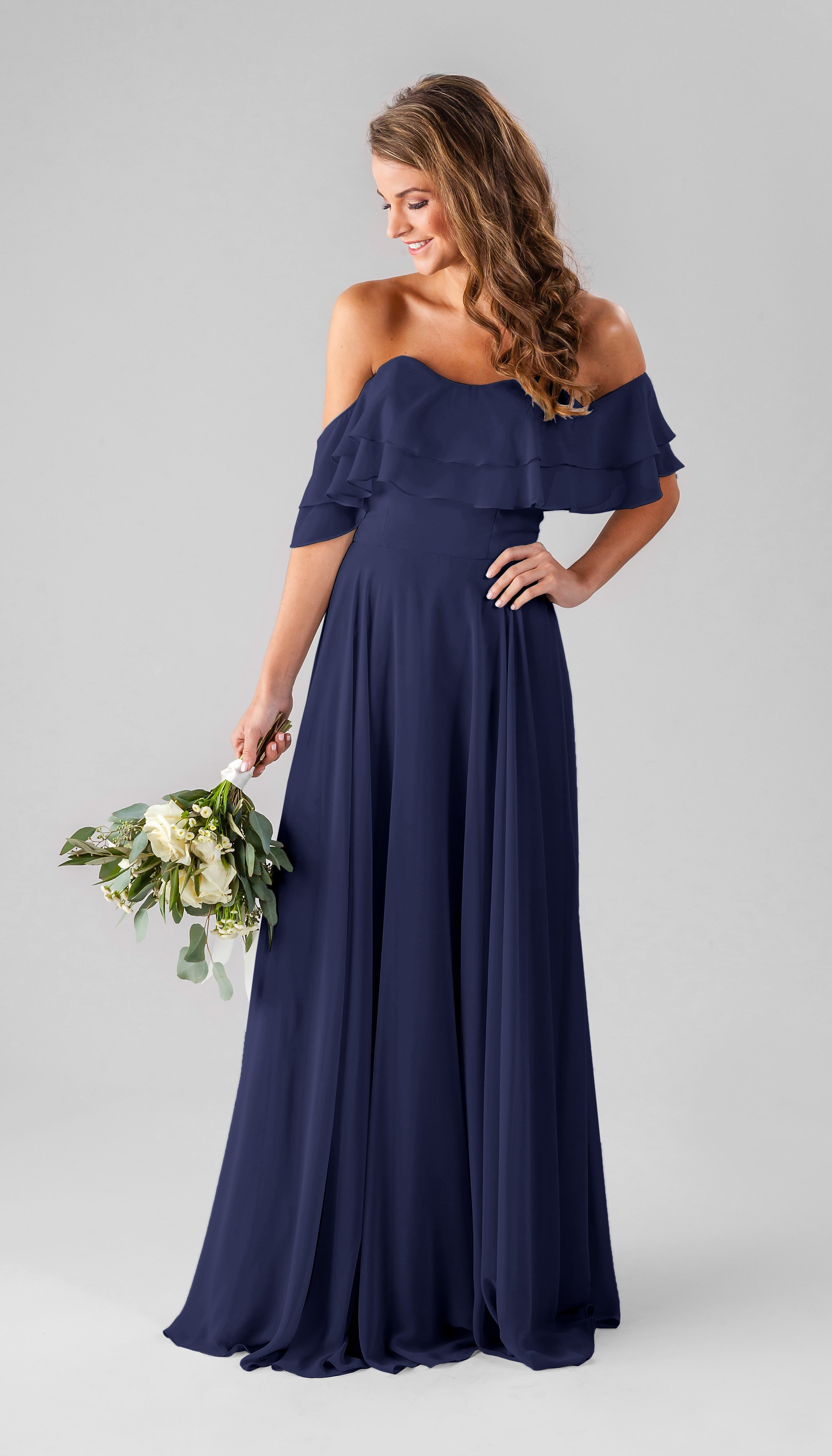 ruffled-off-the-shoulder-bridesmaid-dress-kennedy-blue