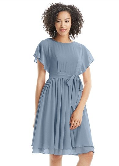 short-bridesmaids-dress-with-sleeves
