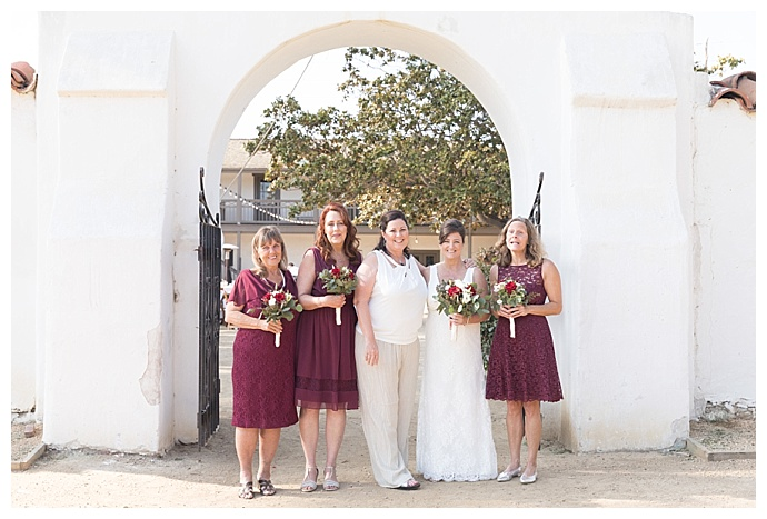 sky-and-reef-photography-mismatched-burgundy-wedding-dresses