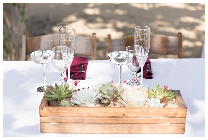 sky-and-reef-photography-rustic-succulent-centerpieces