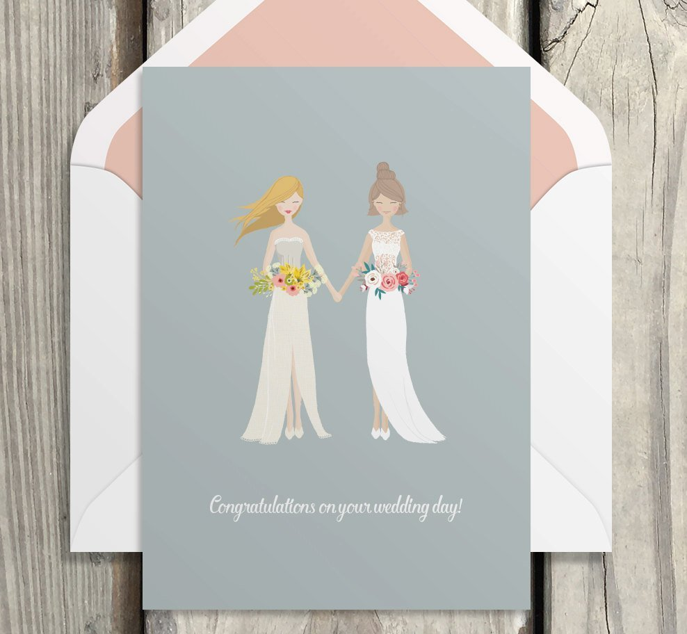 two-brides-wedding-card