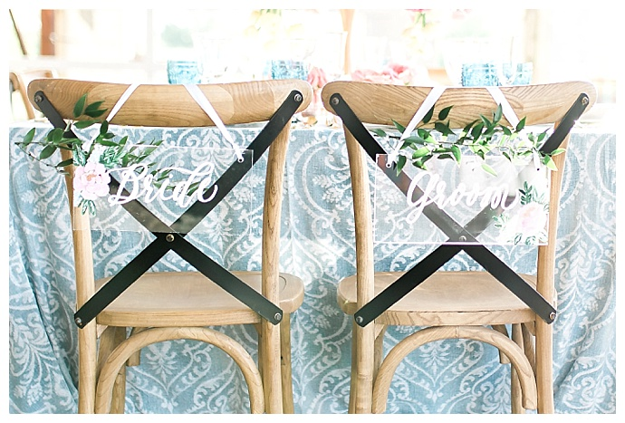 acrylic-wedding-chair-signs-megan-mcgreevy-photography