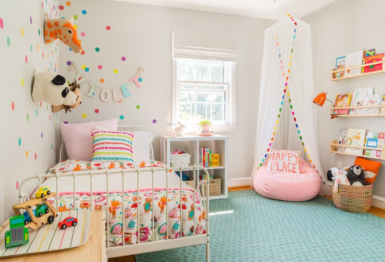 Bright and Bold Toddler Room Inspiration