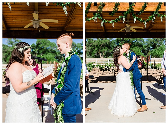 outdoor new mexico wedding