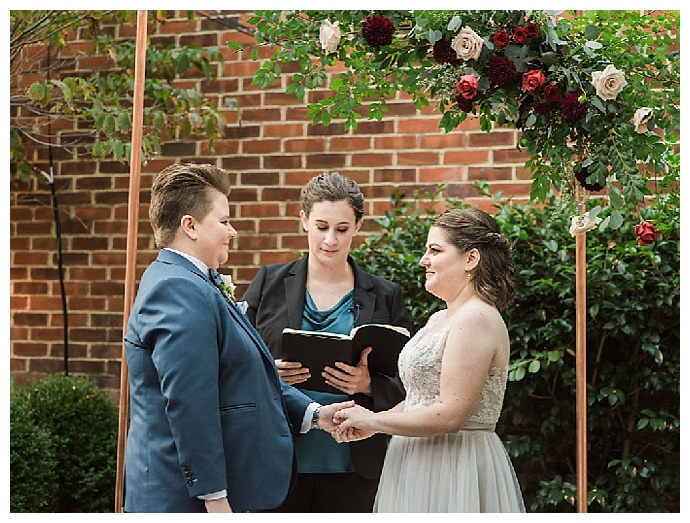 copper-ceremony-arch-lissa-ryan-photography