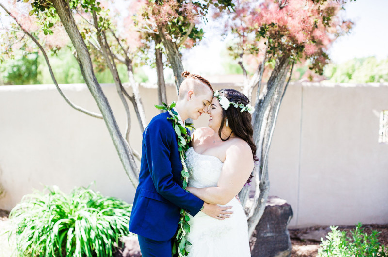 Image for Pili and Sienna's Sunny and Chic Albuquerque Wedding
