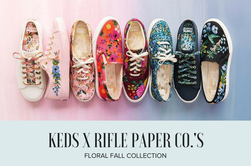 Image for We're Falling for the Florals in Keds x Rifle Paper Co.'s Fall Collection