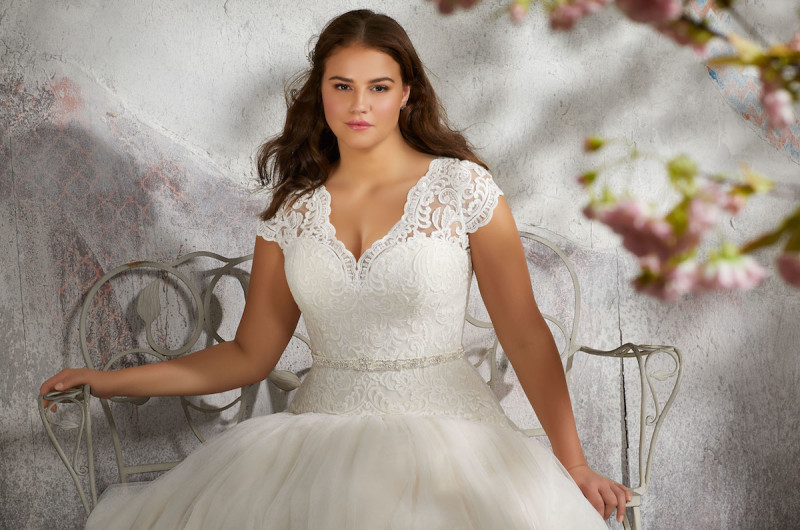 Image for See the Stunning New Designs in Morilee's Collection for Curvy Brides