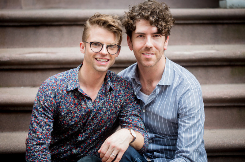 Image for Adam and Tyler's West Village Engagement Shoot