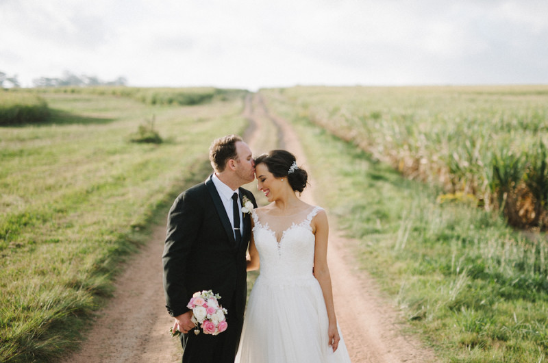 Image for Sam and Shaun's Classic Pink and Rose Gold Wedding
