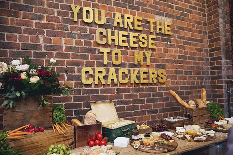 funny-cheese-themed-wedding-sign