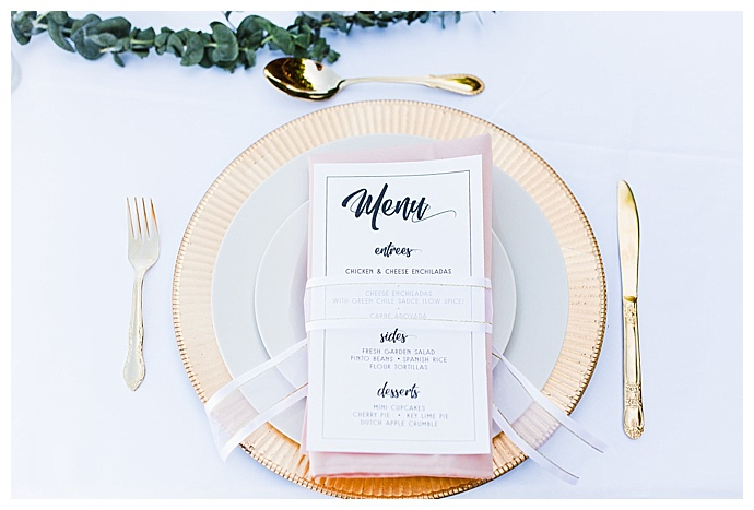 gold rimmed wedding charger