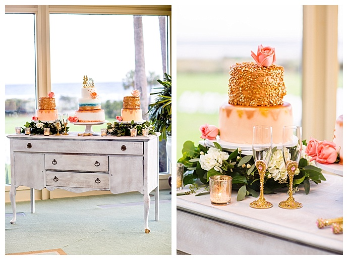 gold-textured-wedding-cake-corina-silva-studios