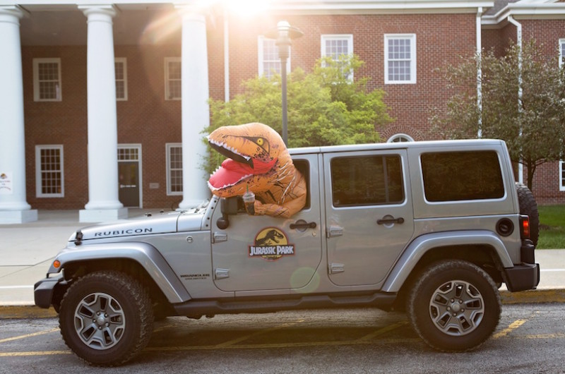 Image for This Jurassic World Back-to-School Sesh Will Melt Your Heart