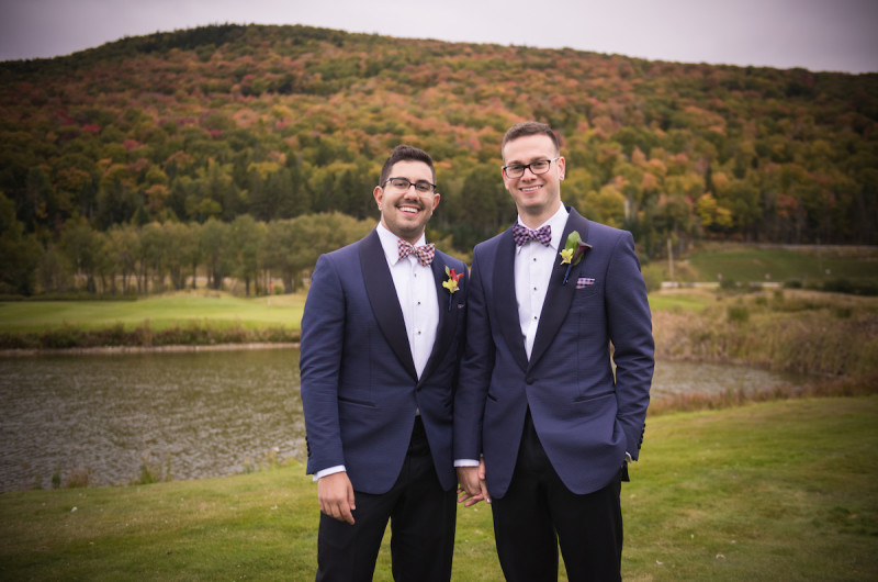 Image for These Matching Grooms are Serving Up Serious Style Inspiration