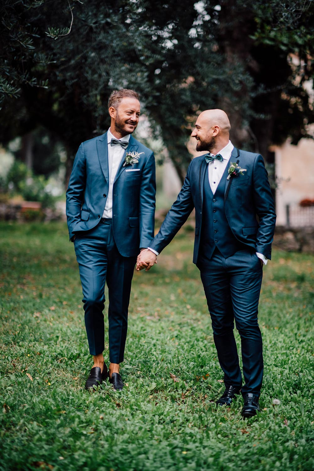 steel-blue-wedding-suits-matching-grooms
