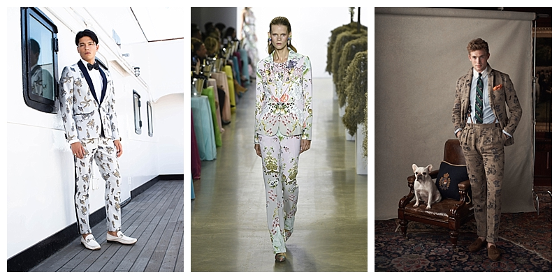 Bold Patterns NYFW Suit Trends