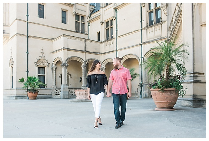 Biltmore Estate Engagement Photos