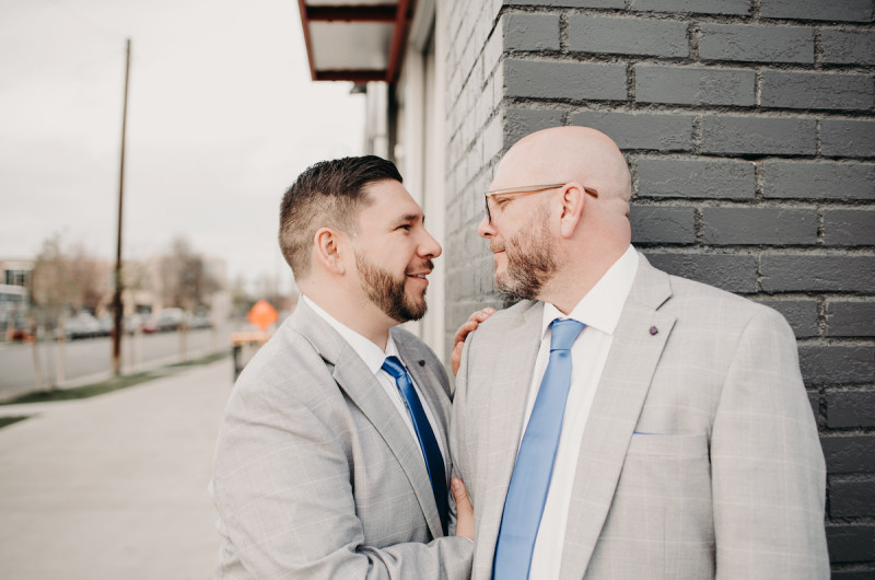 Image for Phil and Eddie's Royal Blue Intimate Denver Wedding
