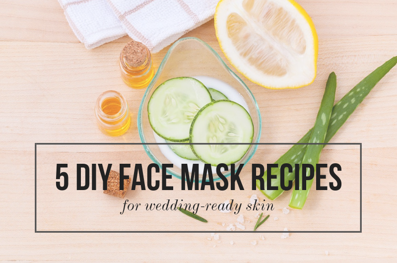 Image for 5 DIY Face Mask Recipes for Wedding-Ready Skin