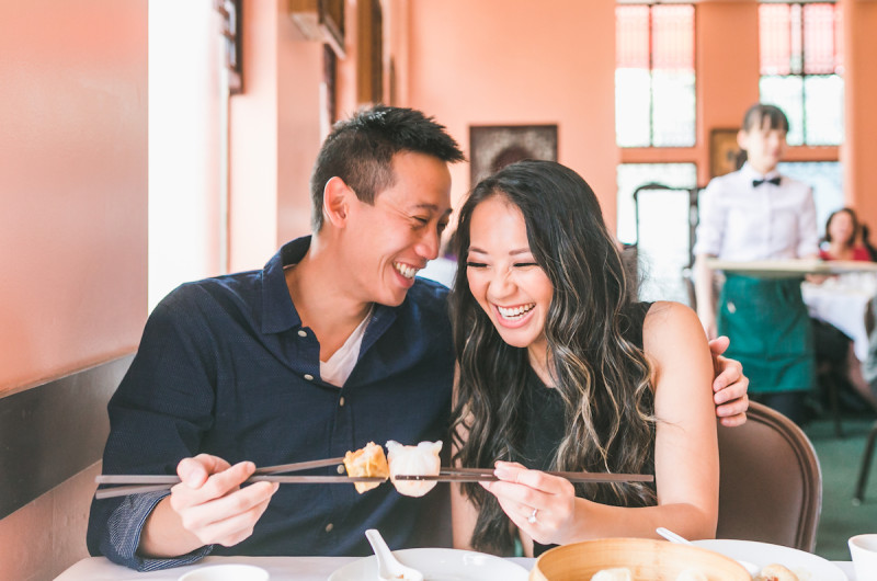 Image for Krystle and Bradford's San Francisco Dim Sum Engagement
