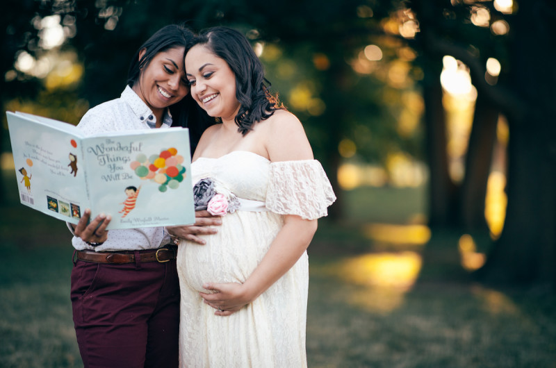 Image for Claudia and Veronica's Enchanting Expecting Session at Loose Park