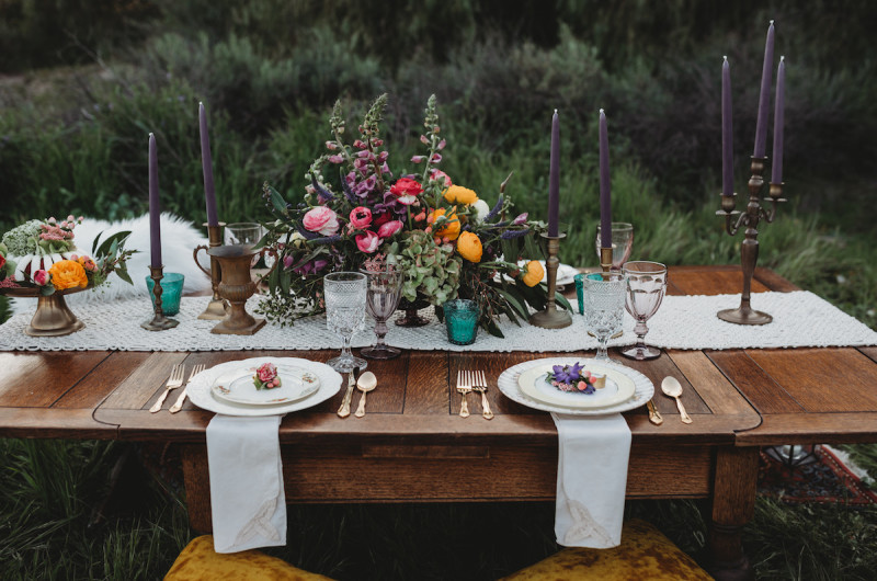 Image for A Modern Meets Boho Styled Elopement