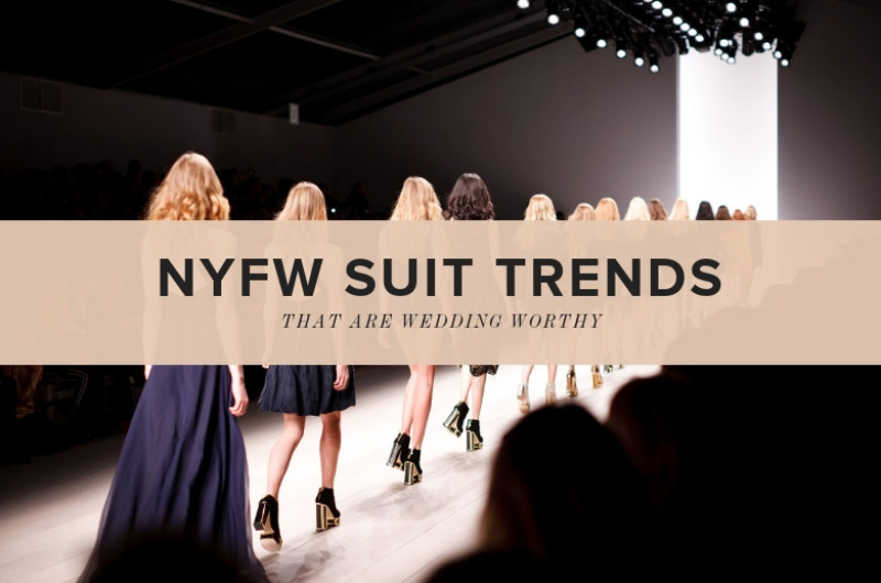 Image for 5 Suit Trends from NYFW SS19 That Are Aisle-Worthy
