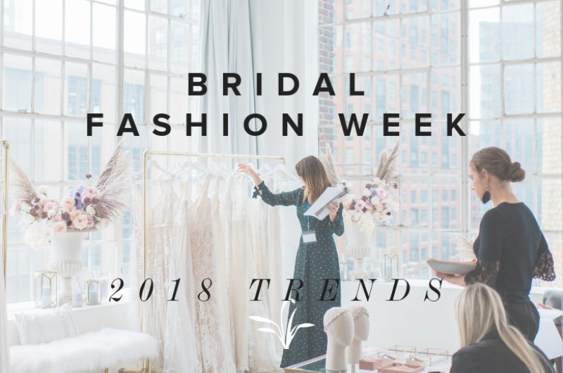 Image for 6 Fall 2019 Bridal Fashion Week Trends Hot Off the Runway!