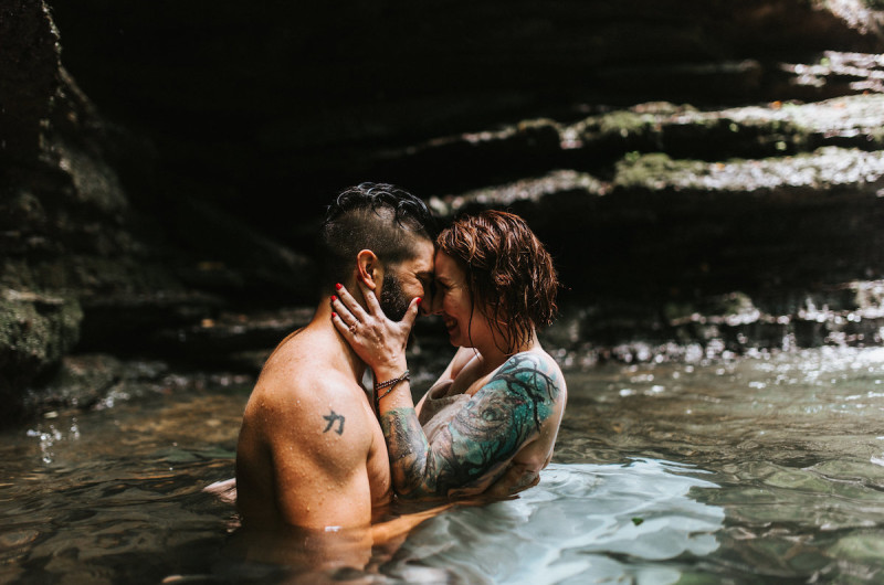 Image for Austin and Jennie's Tennessee Waterfall Elopement