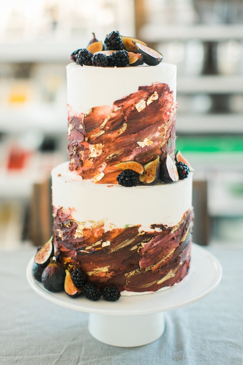 fall-colors-inspired-wedding-cake