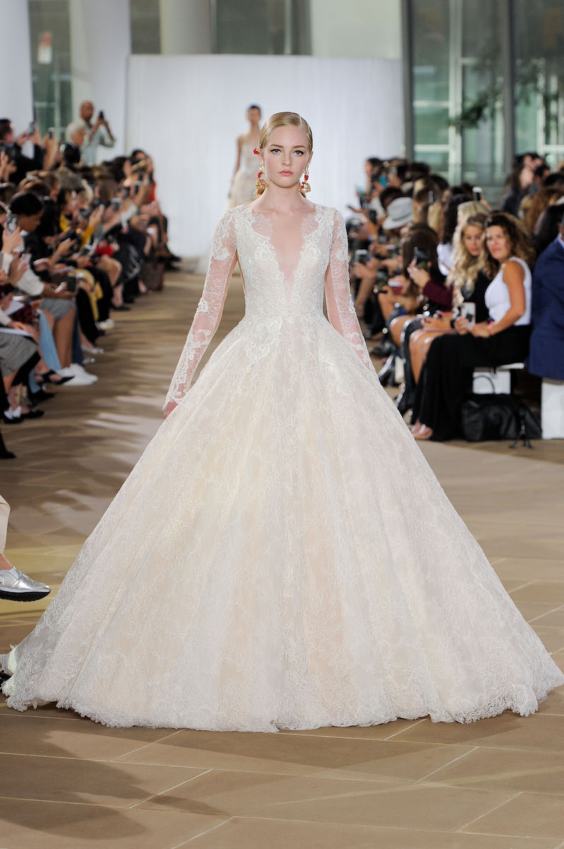 ines di santo fall 2019 wedding dress