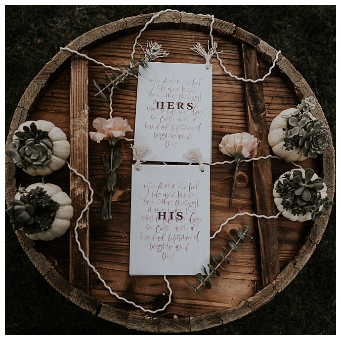 his and hers vow books