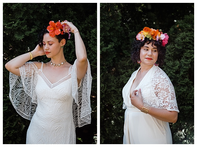 tropical-floral-wedding-crowns-wilde-scout-photography