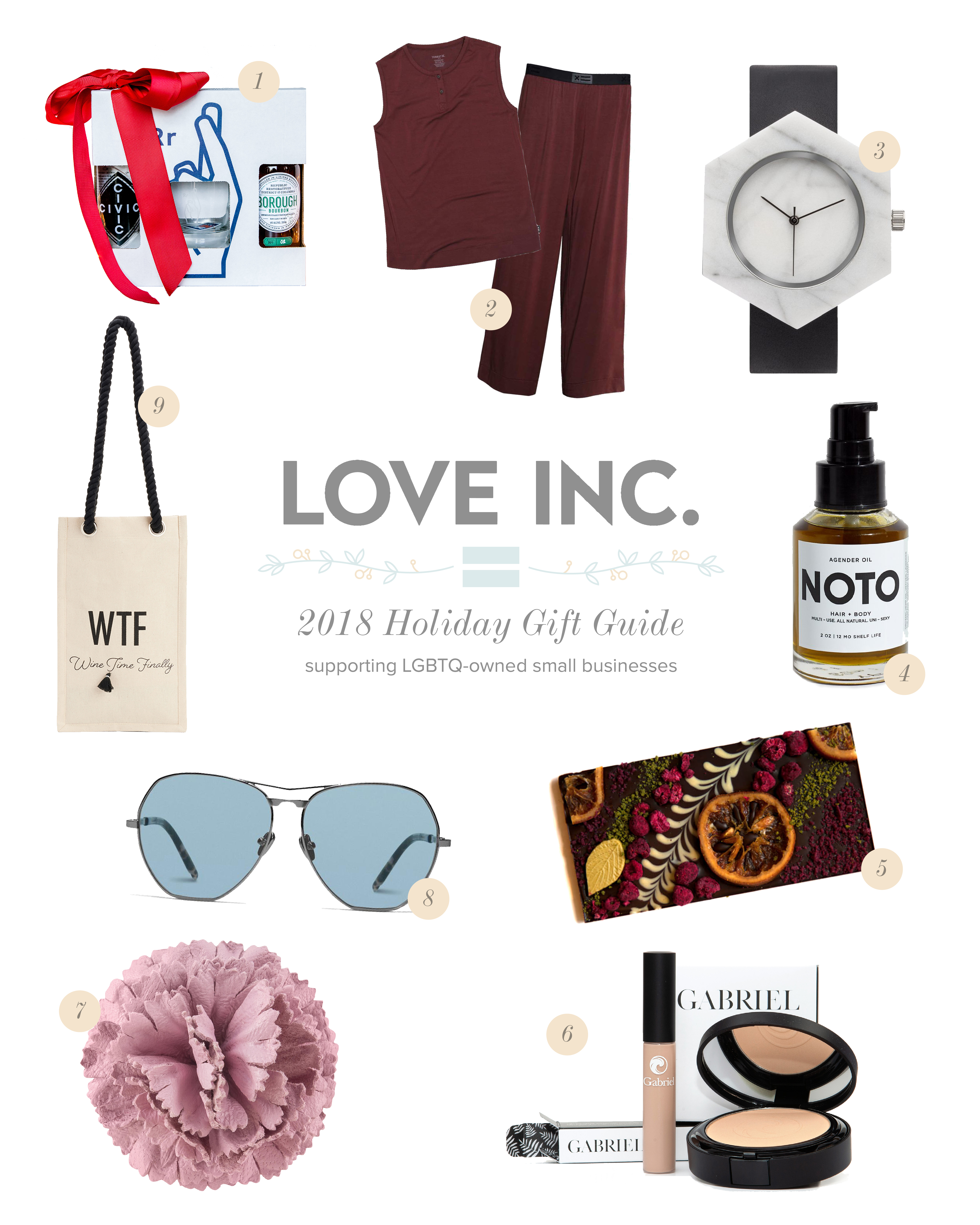 Love inc_2018 holiday gift guide