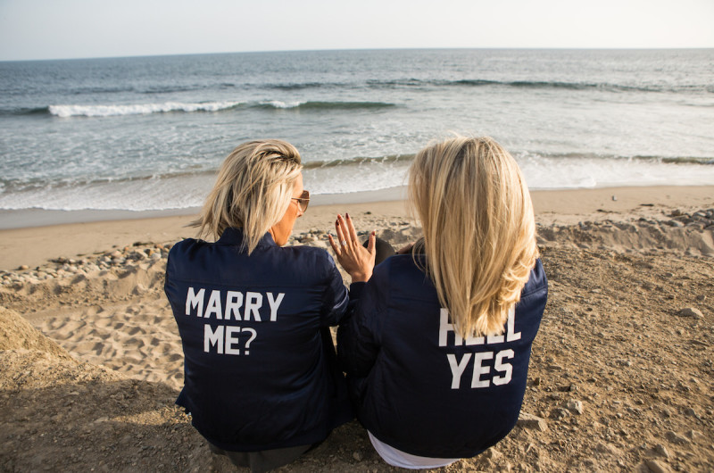 Image for Megan and Gretchen's Malibu Beach Engagement