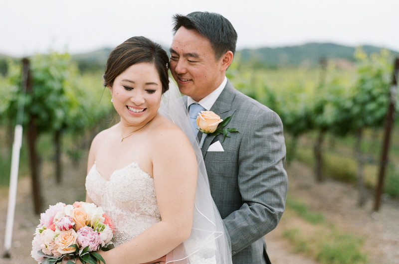 Image For Courtney And Andrew S Watercolor Themed Winery Wedding