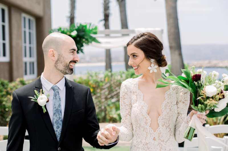 Image for California Coastal Wedding Inspiration with a Tropical Twist