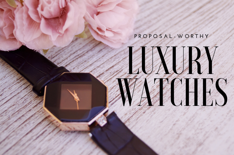 Image for 9 Luxury Watches Perfect for Popping the Question