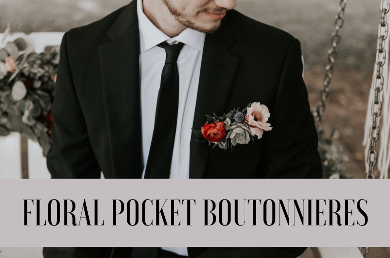 Image for Meet Our New Favorite Suit Accessory: The Pocket Boutonniere!
