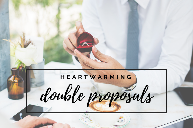 Image for 6 Heartwarming Double Proposals That Will Give You All the Feels