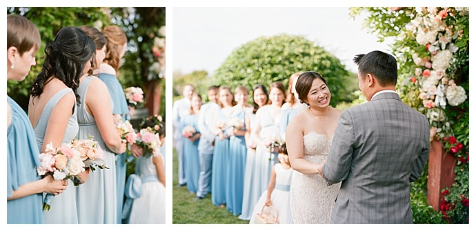 the-ganeys-photography-blue-mismached-wedding-dresses